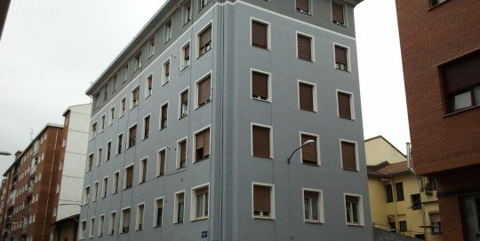 Fachada edificio Mitxelena reformada